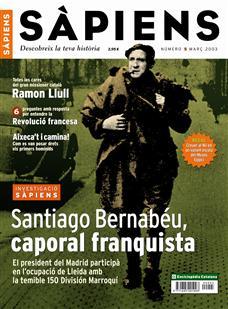 Santiago Bernabéu, caporal franquista