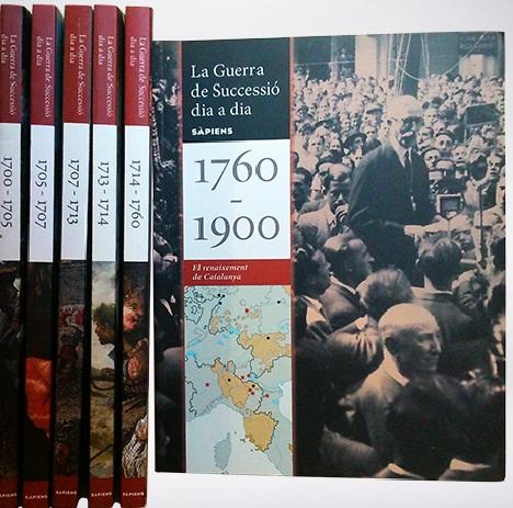 La Guerra de Successió dia a dia (6 llibres)